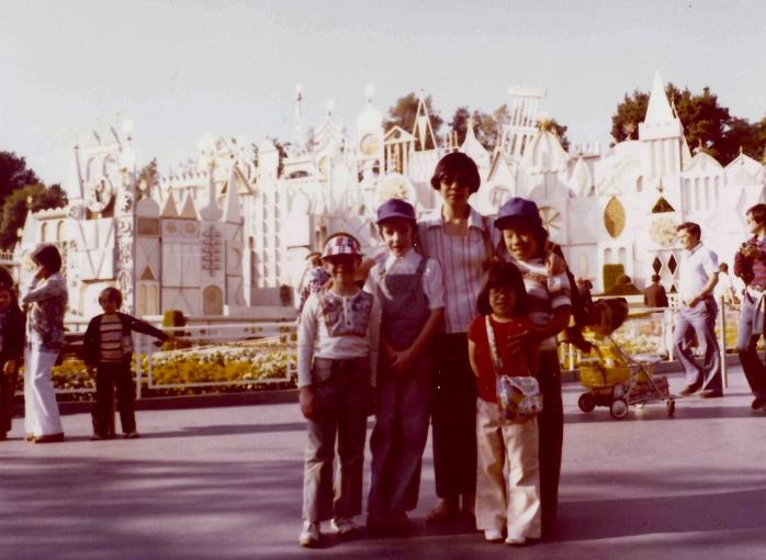 1978-03 - Birthday trip to Disneyland