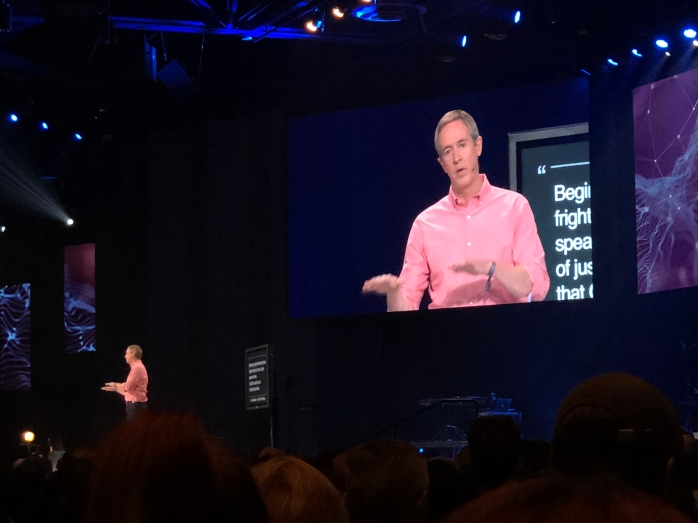 2018-04-12 - Andy Stanley at Catalyst West 2018