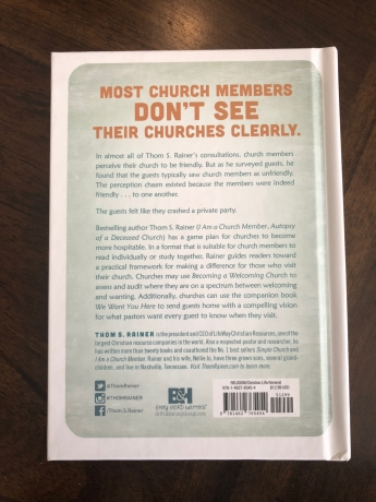 Summary of Becoming A Welcoming Church