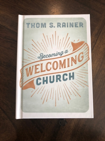 The cover for Becoming A Welcoming Church