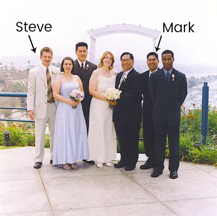 Wedding Mark and Steve