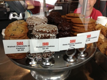 Milk in Beverly Hills has some amazing sweets like the Ooey Gooey Cookies