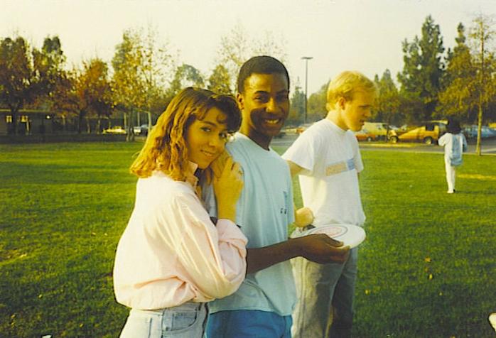 1986 - Rick and Karleen and Jay