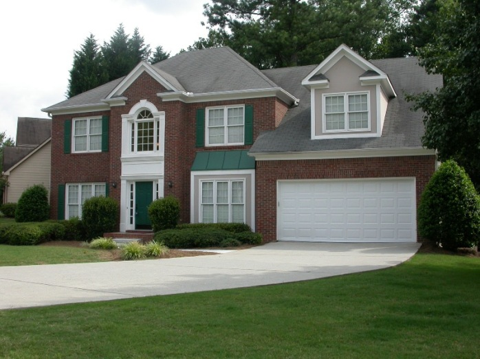 2009 - Our second house in Alpharetta from the outside