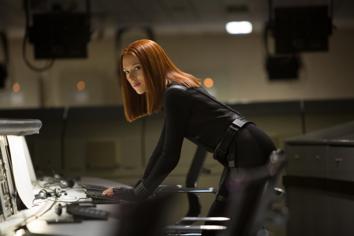Captain America Winter Soldier - Black Widow