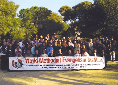 From our trip to France with the World Methodism Evangelism Institute