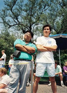 My buddy Lance and I from our Disneyland days