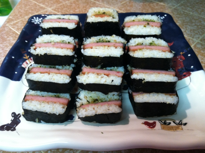 2012-12-16 - Mountain of Spam Musubi