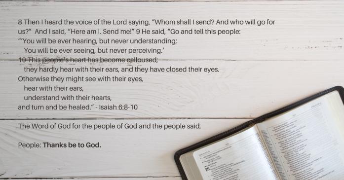 Isaiah Bible Passage